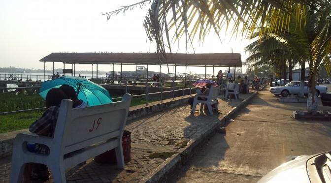 ヤンゴンのデートスポット