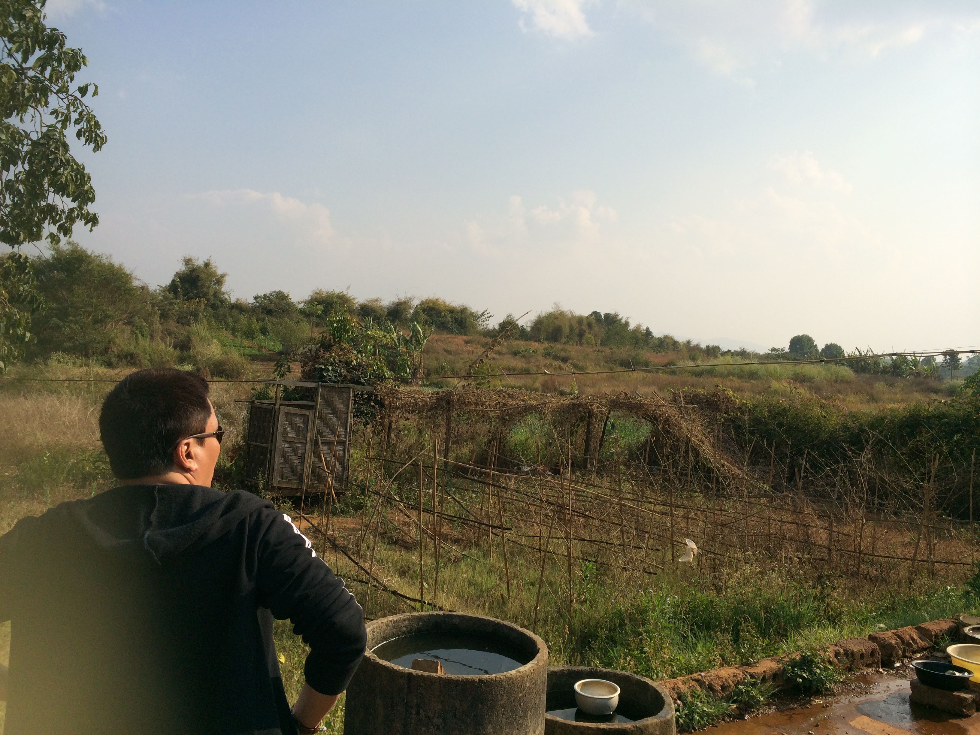 Pyin Oo Lwin の、緑の広がるのどかな景色