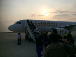 Golden Myanmar Airlines  Y5234 AirBus A320