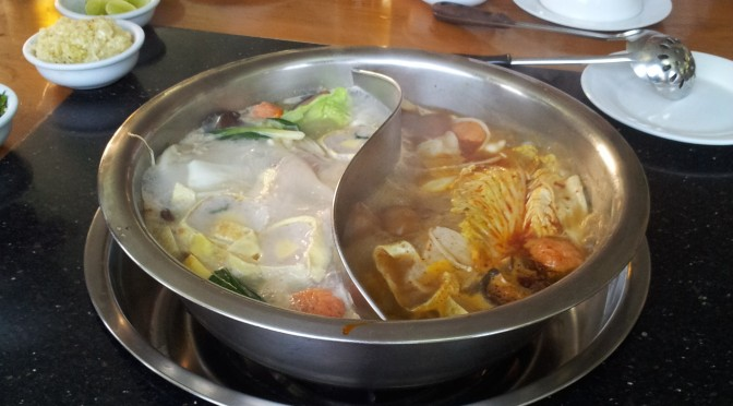 SHWE KAUNG HOT POT