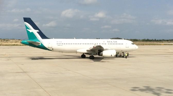 MI533便SQ5033便 マンダレーからシンガポールへのシルクエア(シンガポール航空)