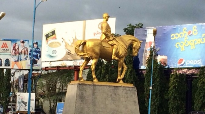バガンとヤンゴンの真ん中にある世界遺産ピィ