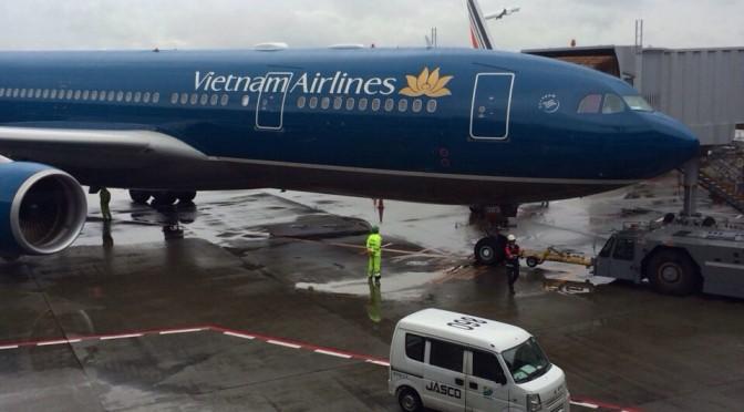 ベトナム航空を利用してミャンマーへ