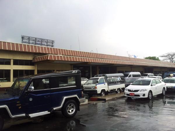 ヤンゴンのタクシーには注意