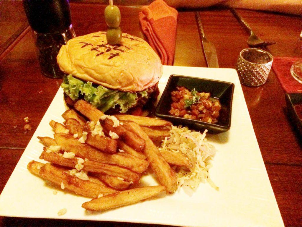 blind tigerのハンバーガー