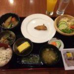 ホテルガンゴウの和朝食
