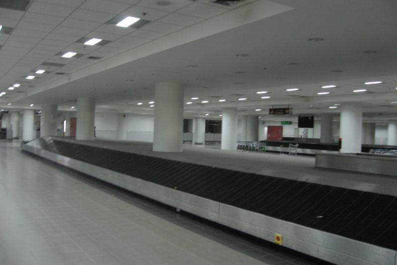 マンダレーの国際空港