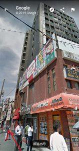 tak11の入り口は大通りからみて、左奥です(googlemapの画像)