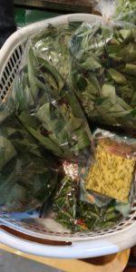 高田馬場で売っている食べられる木の葉っぱチンバオ
